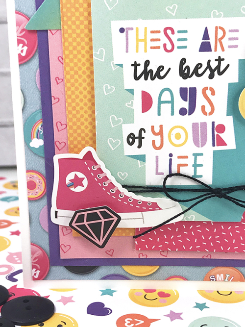 "Best Days of Your Life card by Tya Smith featuring the Teen Spirit Girl"" collection from #EchoParkPaper"