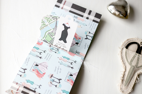 "Pocket Gift Bag by Megan Hoeppner featuring the ""En Vogue"" collection by #CartaBellaPaper"