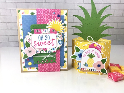 "Summer Card and Gift Box Set by Tya Smith featuring the ""I Love Summer"" Collection by #EchoParkPaper"