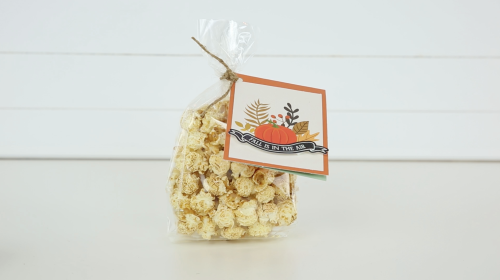 "Popcorn Treat and Tag featuring the ""My Favorite Fall"" Collection by #EchoParkPaper"