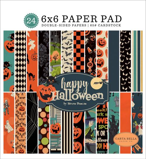 CBHAL104023_Happy_Halloween_6x6_Paper_Pad