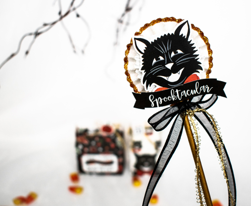 "Last Minute Halloween Treats by Michelle Zerull for #EchoParkPaper with the ""Trick or Treat"" collection"
