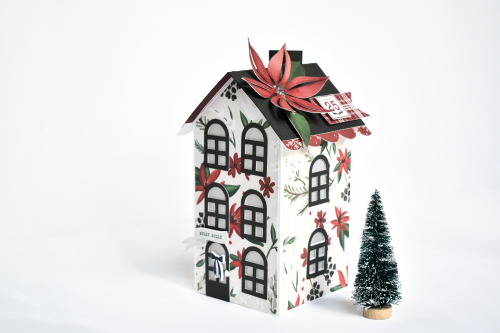 """Holiday Houses by Michelle Zerull featuring the """"Christmas Market"""" Collection from #CartaBellaPaper"""