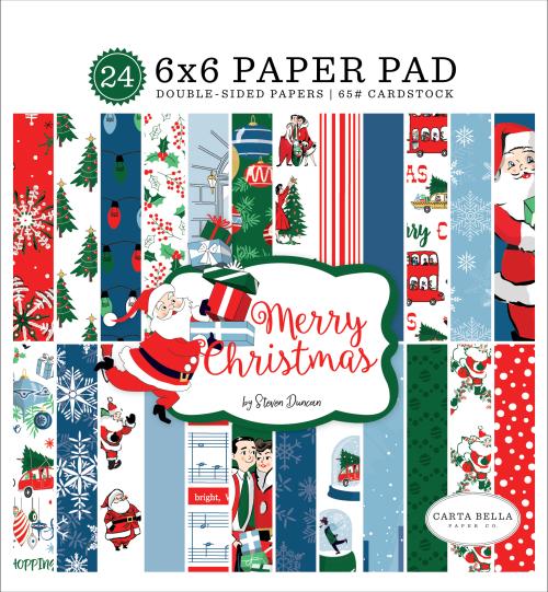 CBMC107023_Merry_Christmas_6x6_Paper_Pad