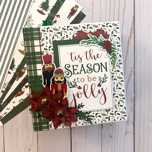 "'Tis the Season mini album by Dorymar Perez featuring the ""Here Comes Santa Claus"" collection by #EchoParkPaper"
