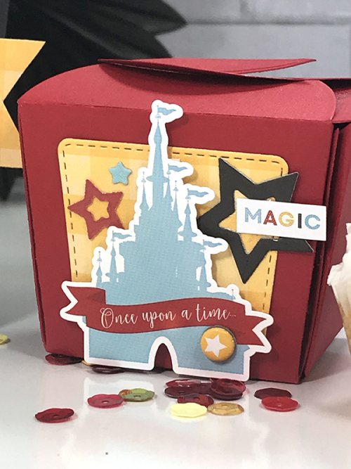 "Magical Treat Boxes by Tya Smith featuring ""Magical Adventure 2"" by #EchoParkPaper"