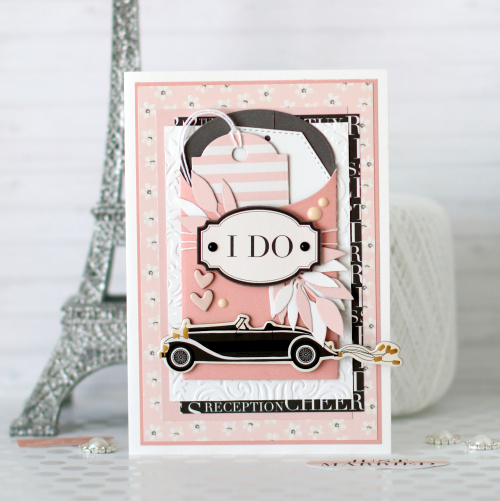 "Wedding cards by Anya Lunchenko for #EchoParkPaper with the ""Wedding Day"" Collection"