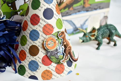 """""""Dinosaurs"""" party set by Michelle Zerull for #CartaBellaPaper"""