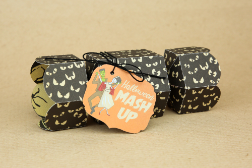 """Happy Halloween"" Treat Wrappers by Wendy Sue Anderson for #CartaBellaPaper"