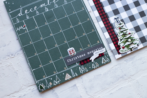 """Christmas Album by Megan Hoeppner featuring the """"Christmas Market"""" collection by #CartaBellaPaper"""
