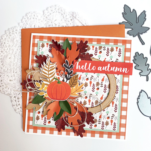 "Autumn Cards by Dorymar Perez featuring the ""My Favorite Fall"" Collection by #EchoParkPaper"