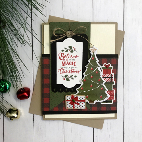 """Christmas Card by Tya Smith featuring the """"My Favorite Christmas"""" collection by #EchoParkPaper"""