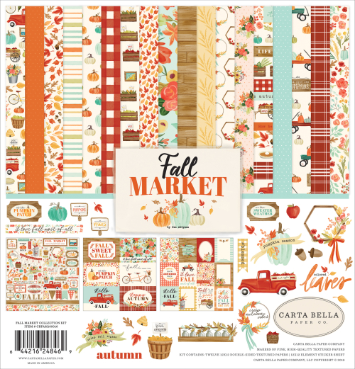 """Fall Market"" Collection by #CartaBellaPaper"