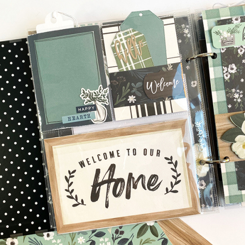"""The Best Journey Takes You Home"" mini album by Dorymar Perez for #CartaBellaPaper featuring the ""Home Again"" Collection"