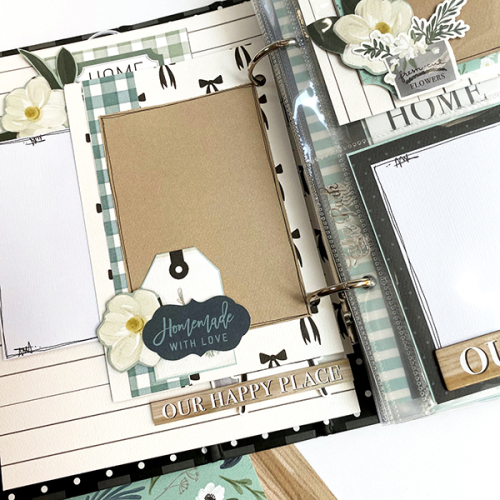 """""""The Best Journey Takes You Home"""" mini album by Dorymar Perez for #CartaBellaPaper featuring the """"Home Again"""" Collection"""