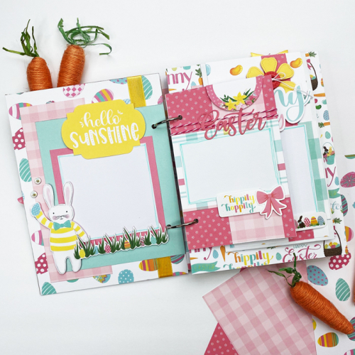 "Happy Easter Mini Album by Dorymar Perez for #EchoParkPaper featuring the ""I Love Easter"" Collection!"