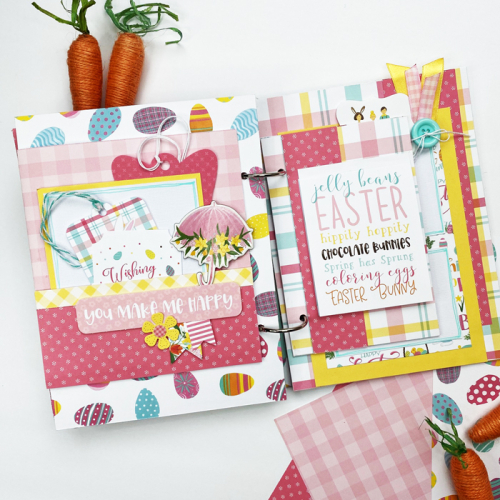 """Happy Easter Mini Album by Dorymar Perez for #EchoParkPaper featuring the """"I Love Easter"""" Collection!"""