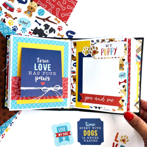 """I Love My Dog"" Mini Album by Dorymar Perez for #EchoParkPaper"