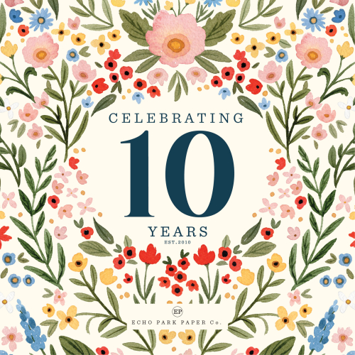 Echo Park Paper 10th Birthday Celebration