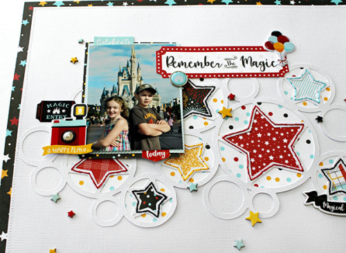 Remember the Magic Layout by Michelle Gallant for #EchoParkPaper