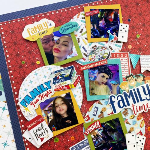 Family Night layout by Dorymar Perez for #EchoParkPaper