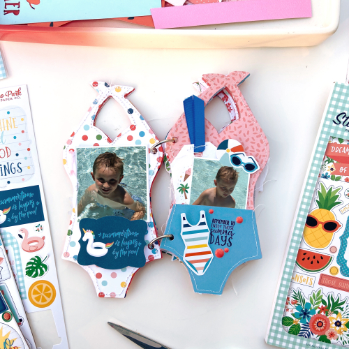 "Swimsuit mini album by Lydia Cost for #EchoParkPaper featuring the ""Summertime"" collection"