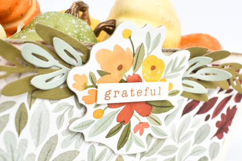 "Grateful Basket by Michelle Zerull for #CartaBellaPaper featuring the ""Hello Autumn"" collection"