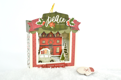 "Christmas Ornaments by Michelle Zerull featuring the ""Hello Christmas"" collection by #CartaBellaPaper"