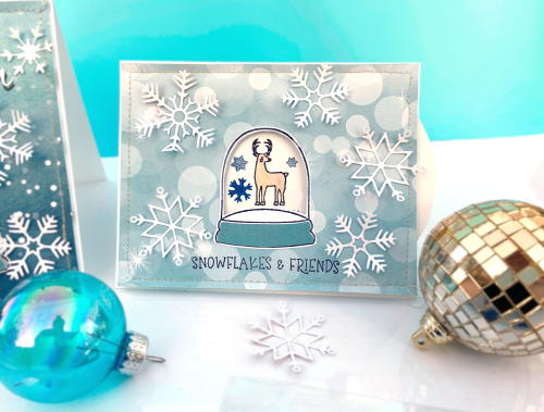 "Interactive Cards by Lydia Cost featuring ""Winter Magic"" for #EchoParkPaper"