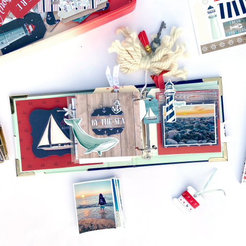 """By The Sea"" mini album by Lydia Cost for #CartaBellaPaper"