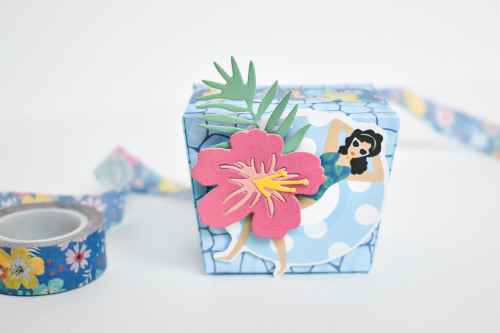 Dive Into Summer Gift Boxes by Michelle Zerull for #EchoParkPaper