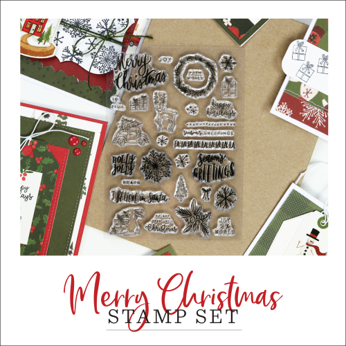 Club EP October Stamp Set: Merry Christmas