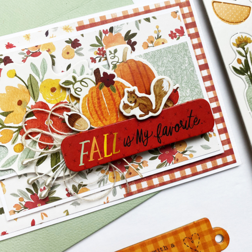 Product Feature Week: Chipboard Accents and Phrases - Project by Dorymar Perez for #EchoParkPaper and #CartaBellaPaper