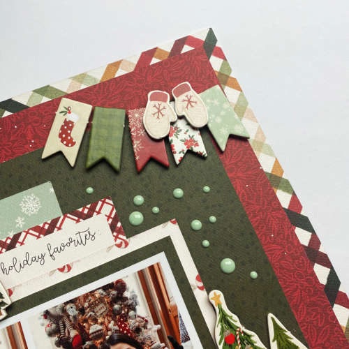 "Merry Christmas Layout by Dorymar Perez featuring the ""Hello Christmas"" collection by #CartaBellaPaper"