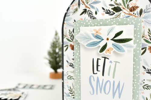 Winter Market Mailbox by Michelle Zerull for #CartaBellaPaper