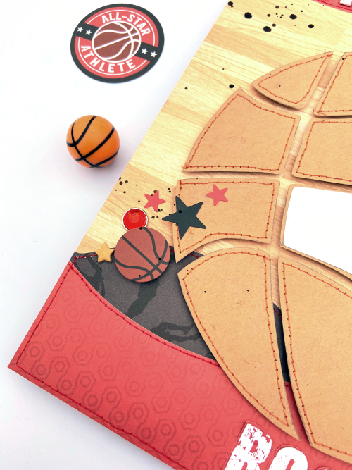 Basketball Rocks layout by Lydia Cost for #EchoParkPaper