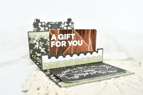 "Wedding Pop-Up Gift Cards by Michelle Zerull featuring ""Our Wedding"" collection by #EchoParkPaper"
