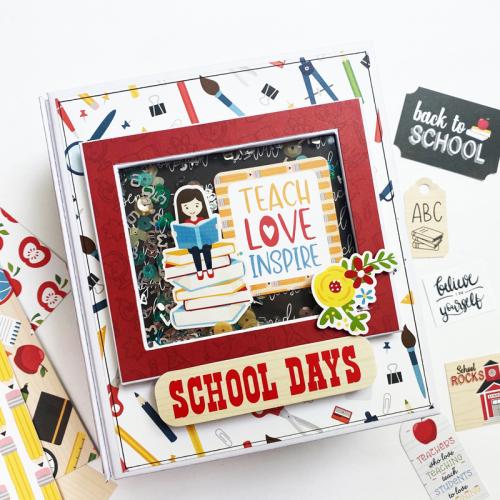 """School Rules"" mini album by Dorymar Perez for #EchoParkPaper"