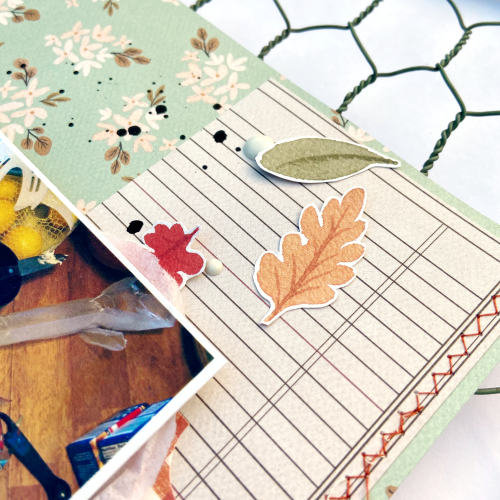 "6x8 Pages by Lydia Cost for #CartaBellaPaper featuring the ""Hello Autumn"" collection"