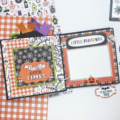 "Happy Halloween mini album by Dorymar Perez for #EchoParkPaper featuring the ""I Love Halloween"" Collection"