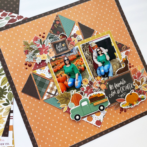 Designer Challenge Week: Mix at least 3 Collections on one project - layout by Dorymar Perez for #EchoParkPaper and #CartaBellaPaper