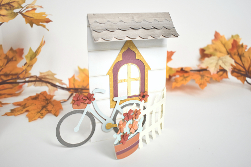Designer Challenge Week: Day 4 - Autumn Cottage Gift Set by Michelle Zerull for #EchoParkPaper and #CartaBellaPaper