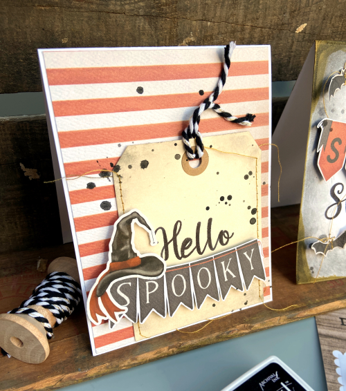 """Halloween Cards by Lydia Cost featuring """"Halloween Market"""" and Designer Stamps by #EchoParkPaper"""