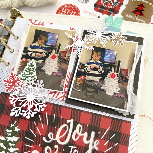 A Lumberjack Christmas 6x8 Layout by Lydia Cost for #EchoParkPaper