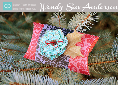 Holiday Die Cut Box by Wendy Sue Anderson