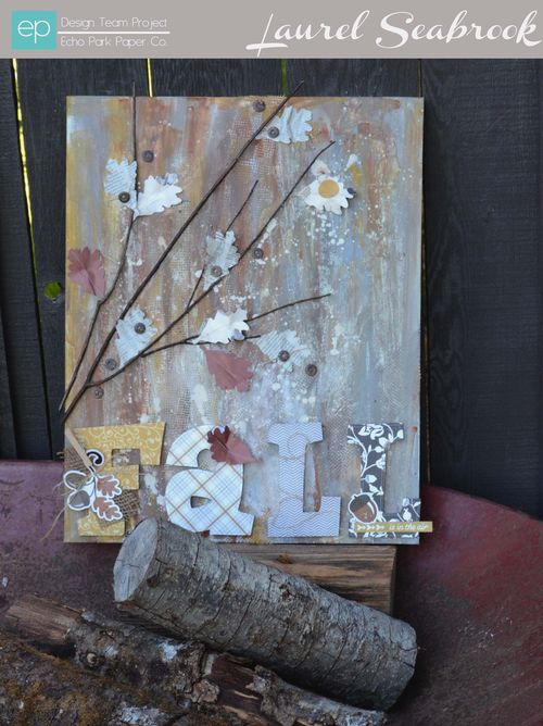 Fall Canvas by Laurel Seabrook
