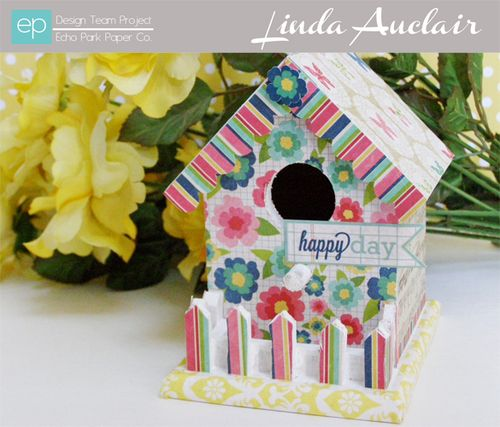Birdhouse by Linda Auclair