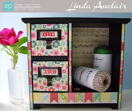 Desk Organizer by Linda Auclair