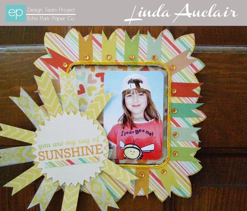 Sunshine Frame by Linda Auclair