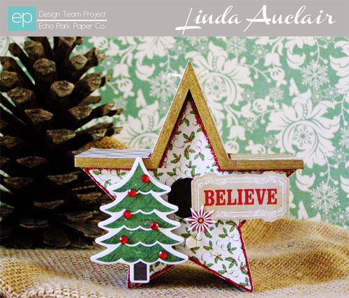 Reflections Christmas Ornament by Linda Auclair